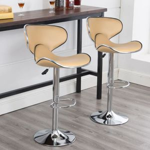 TABOURET DE BAR Lot de 2 Tabouret de Bar réglable et pivotant Tabo