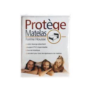 PROTÈGE MATELAS  Protège Matelas Plastifié Imperméable 140x200cm