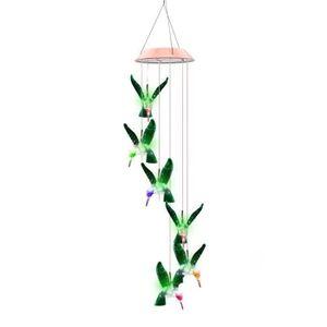 BALISE - BORNE SOLAIRE  En Plein Air Colibri Carillons Éoliens Maison Déco