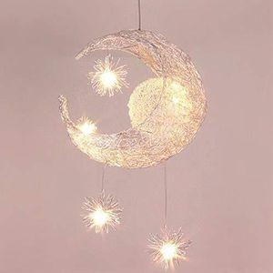 LUSTRE ET SUSPENSION Lustre Suspension Industrielle Lune étoiles LED Pl