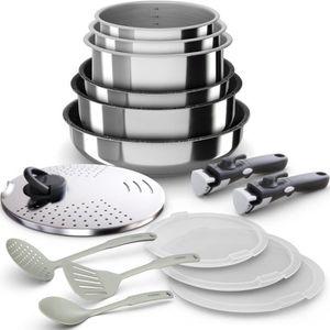 BATTERIE DE CUISINE BACKEN 399915 - Batterie de  cuisine 15 pièces  in