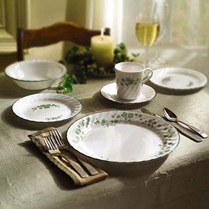 SERVICE COMPLET Corelle Service de vaisselle pour 4 personnes 16 p