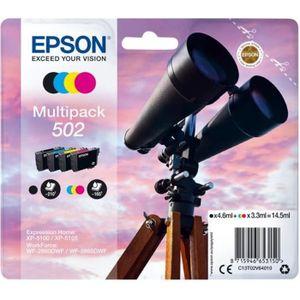CARTOUCHE IMPRIMANTE EPSON Cartouche d'encre originale 502 Multipack -