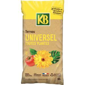 TERREAU - SABLE KB Terreau universel - Toutes plantes - 50 L