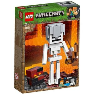 ASSEMBLAGE CONSTRUCTION LEGO® Minecraft™ 21150 Bigfigurine Squelette avec