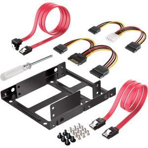 RACK - BAIES  2.5 pouces SSD à 3.5 pouces support de kit de mont