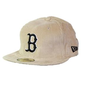 1b8f70edfb7 Casquette NEW ERA 59Fifty Boston Red Sox B Beige Beige Beige - Achat ...