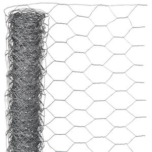 HAIE DE JARDIN NATURE Maille hexagonale 0,5x2,50m