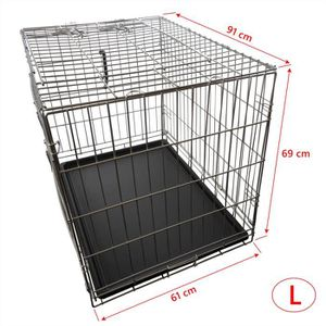 cages chien achat vente cages chien pas cher cdiscount. Black Bedroom Furniture Sets. Home Design Ideas