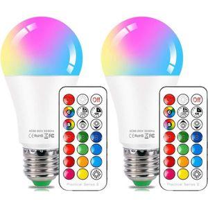 AMPOULE - LED Ampoules Couleur E27 10W, Ampoules LED Couleur Cha