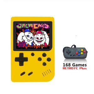 CONSOLE PSP 3 pouces Console de jeu vidéo intégré 168 jeux cla