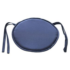 COUSSIN Bleu Marine Galette de chaise rond Coussin de chai