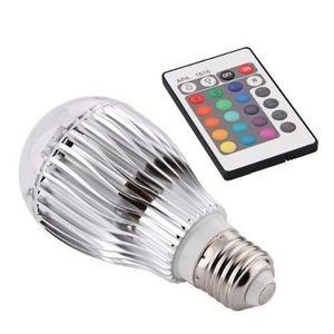 AMPOULE - LED Ampoule Spot LED RGB RVB 16 Couleurs 9W 230V Pour