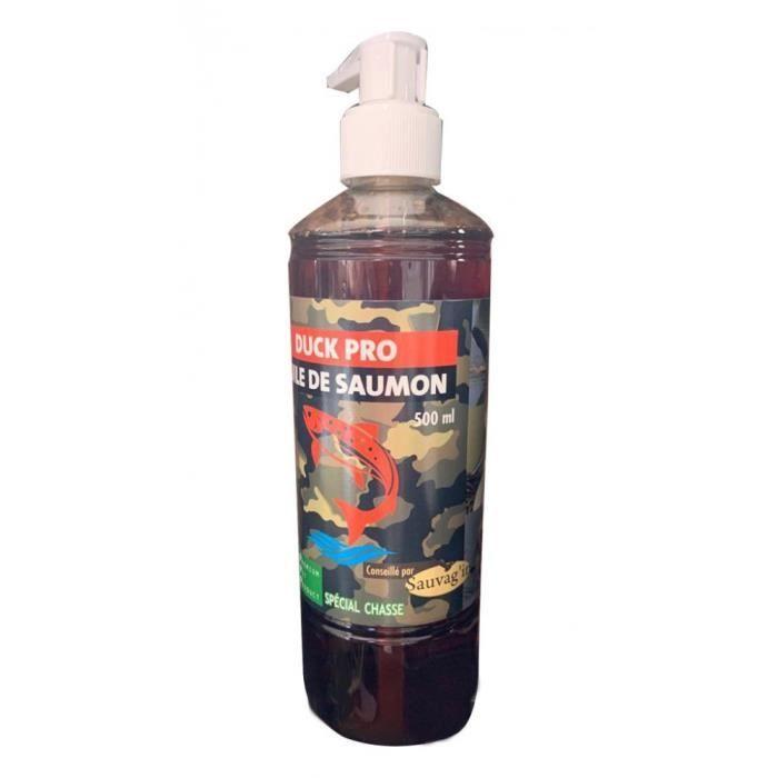 Huile de Saumon DUCK PRO 500 ml-Sauvag'in 20,000000