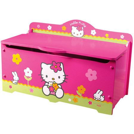 coffre jouets hello kitty grand mod le achat vente. Black Bedroom Furniture Sets. Home Design Ideas