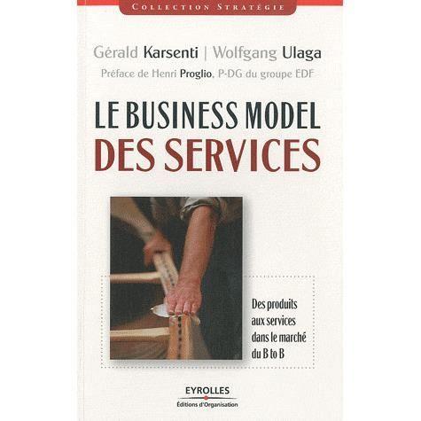 LIVRE GESTION Le Business Model des services