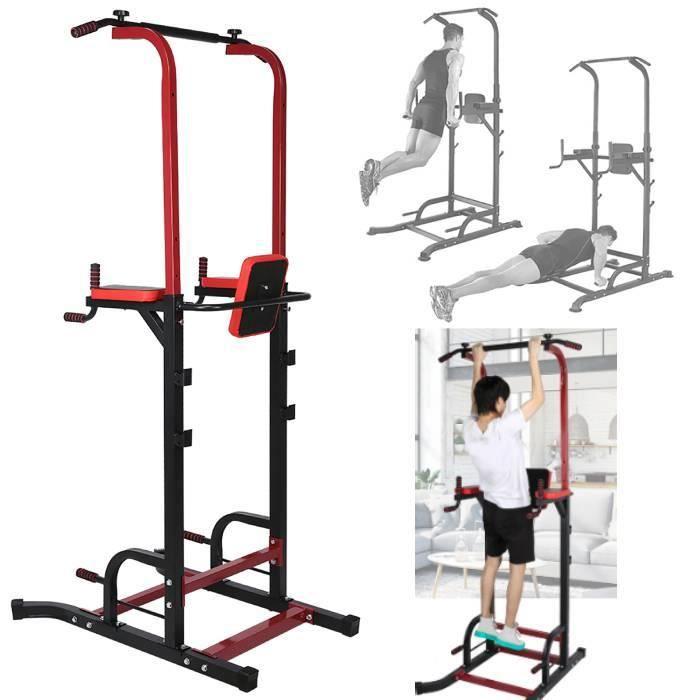 Station de tractions et fitness,Barre de traction Station musculation Dips station HB029-XNA