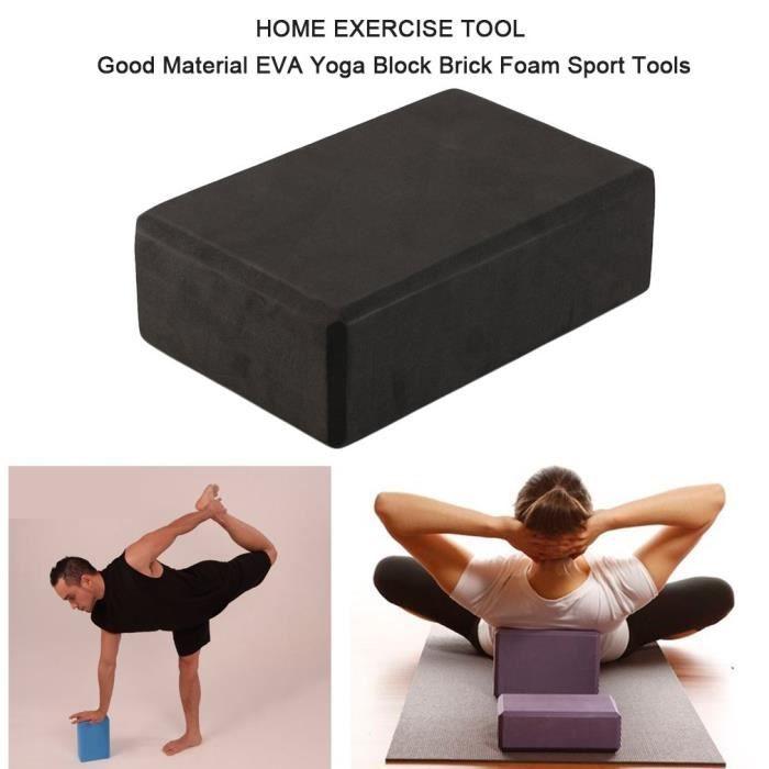 Outil d'exercice à la maison Bon matériel de sport de mousse de brique de bloc de yoga d'EVA