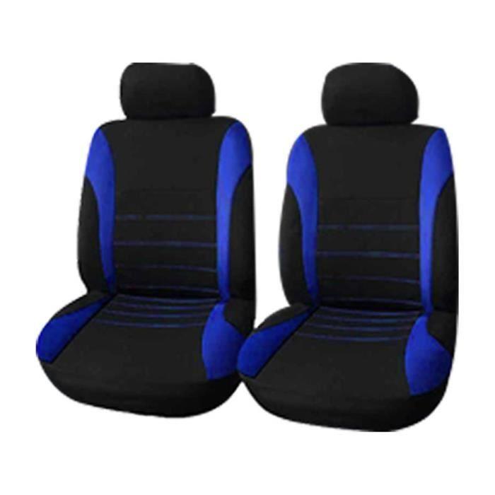 HOUSSE DE SIEGE - COUVRE SIEGE Housse de siège de voiture Protection de siège de voiture Coussin de siège de voiture bleu 4 pièces