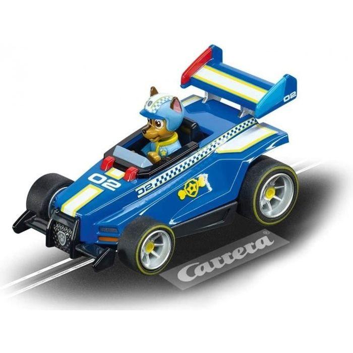 Carrera Go Pat Patrouille - Voiture de Course De Chase Ready Race - Voiture Pour Circuit Bleue