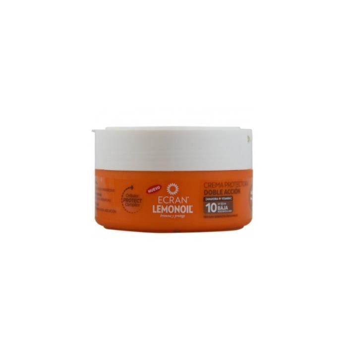 Ecran Crema Protectora Sol SPF 10 Doble Acccion 200 ml.