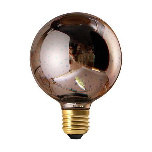 Globe G95 LED Cosmos 3D 4W E27 non Dim. - Argent