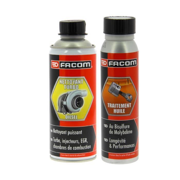 FACOM Lot d'additifs pour moteur T.D.