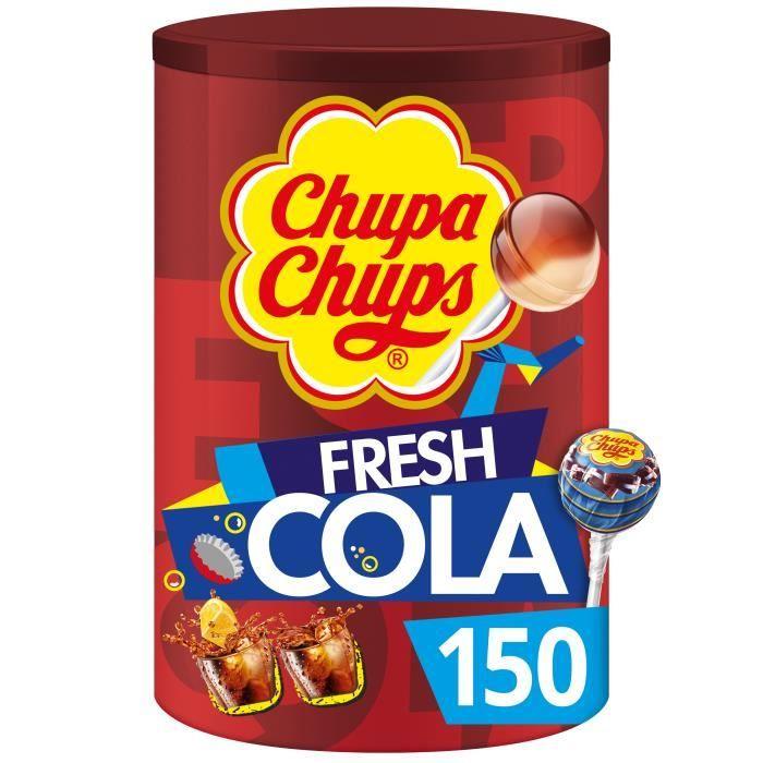 CHUPA CHUPS Tubo de 150 sucettes Cola