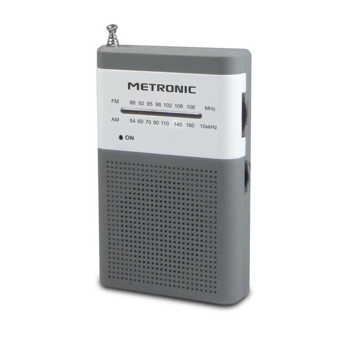 MET 477215 Radio FM de poche