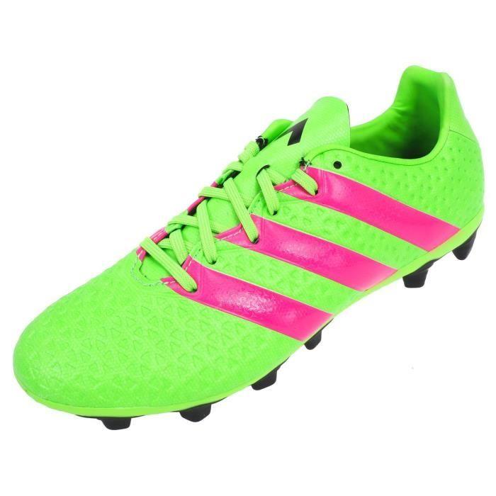 ADIDAS Chaussures de Foot pour terrain sec homme ACE 16.4 FG PE16 - Vert