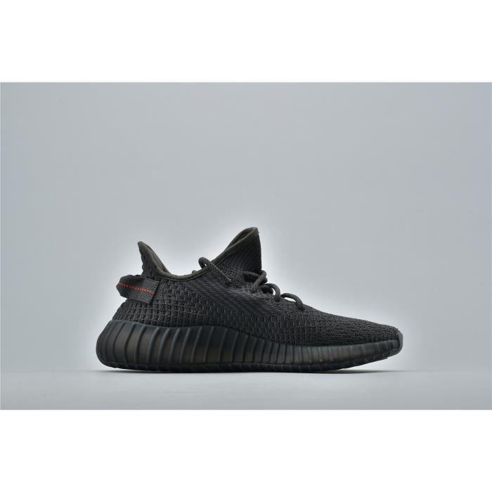 Basket ADIDASs Yezzy 350 V2 Chaussures de Running Homme Femme Noir