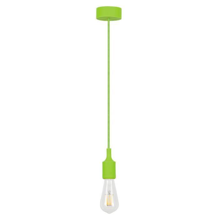Lampes RABALUX Roxy • Appliques et plafonniers, suspensions • Couleur: vert • Matériel: silicone • Ref: 1415