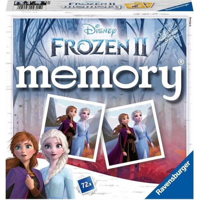 Grand memory® Disney La Reine des Neiges 2