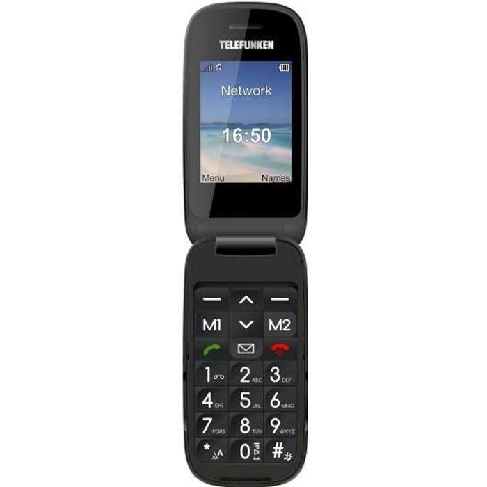 TELEFUNKEN Téléphone mobile TM260 COSI senior grosses touches