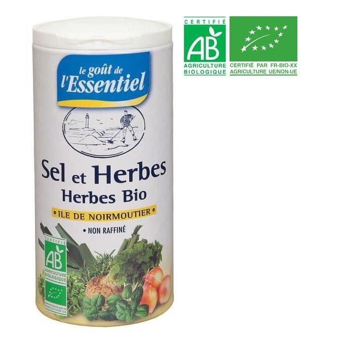 Sel aux Herbes Bio 250g