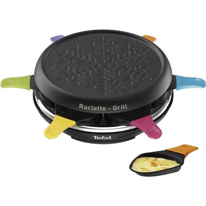 TEFAL RE12A012 Raclette 6 personnes Tefal Colormania