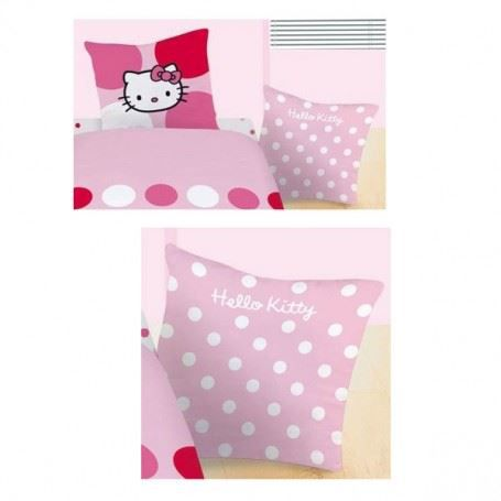 hello kitty sophie taie d 39 oreiller 63x63 cm achat vente taie d 39 oreiller cdiscount. Black Bedroom Furniture Sets. Home Design Ideas