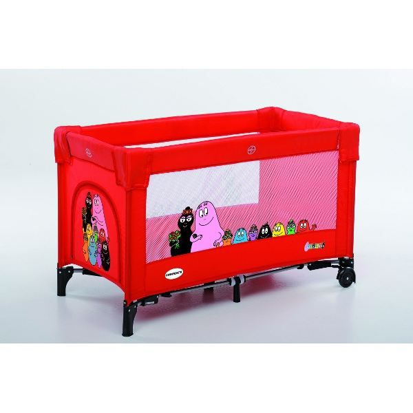 barbapapa lit de voyage pliant b camping rouge achat. Black Bedroom Furniture Sets. Home Design Ideas