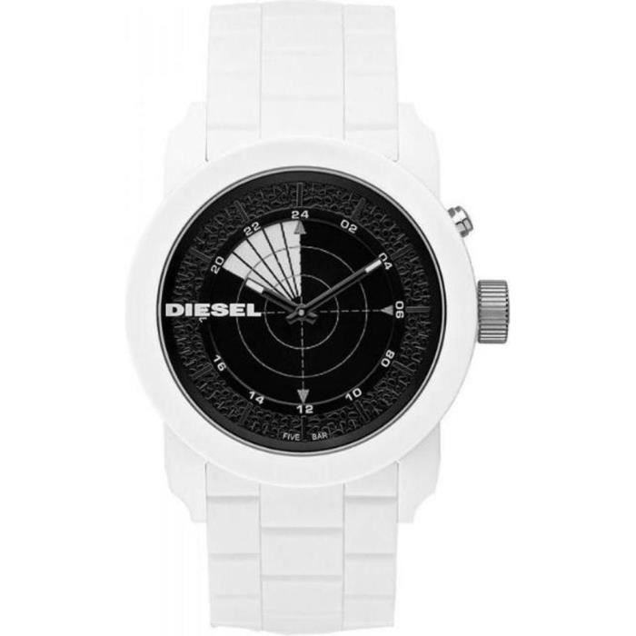 montre homme diesel franchise 44 dz1606 radar b blanc achat vente montre bracelet cdiscount. Black Bedroom Furniture Sets. Home Design Ideas