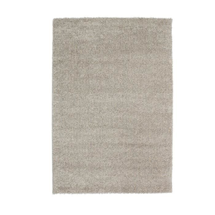 finlandek tapis shaggy lahti beige gris 80x150 cm achat vente tapis soldes d t cdiscount. Black Bedroom Furniture Sets. Home Design Ideas