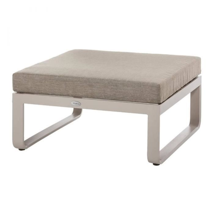 POUF EXTERIEUR ABSOLU HESPERIDE TAUPE