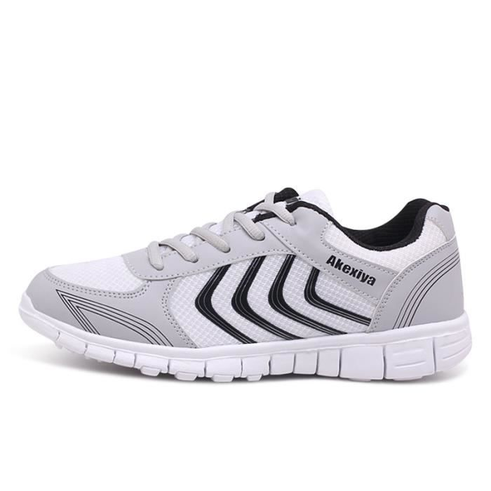 Léger Homme Ultra Jogging Baskets Sport BWYS Respirant Chaussure XZ230Gris44 Chaussures hiver Yqqwgd