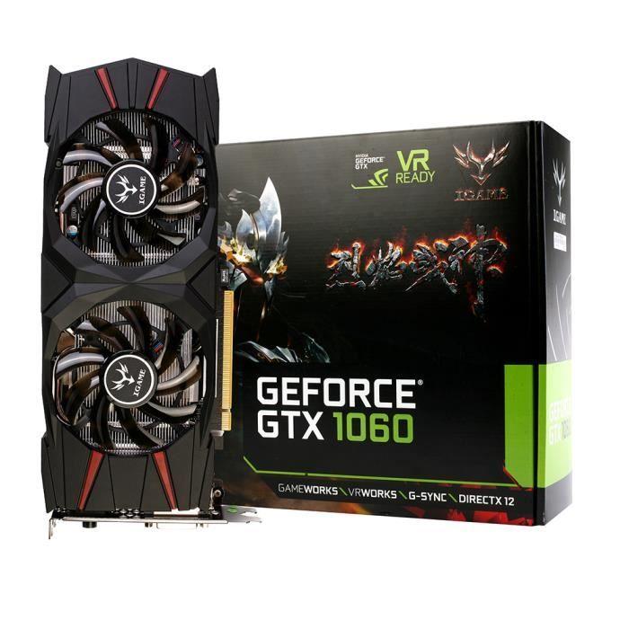 CARTE GRAPHIQUE INTERNE Colorful NVIDIA GeForce GTX 1060 Carte graphique v