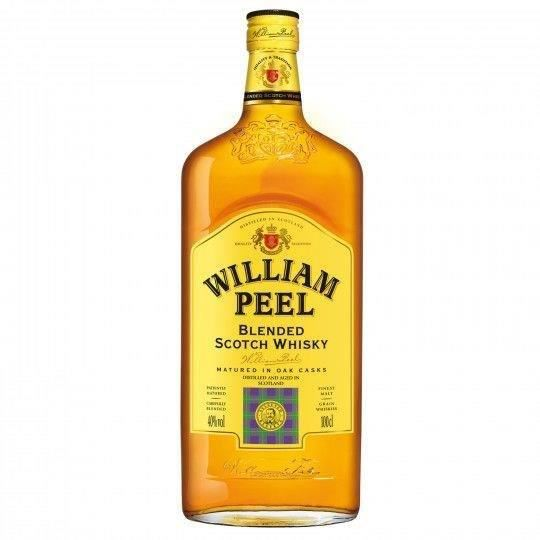 WHISKY BOURBON SCOTCH Blended scotch whisky 150cl William Peel