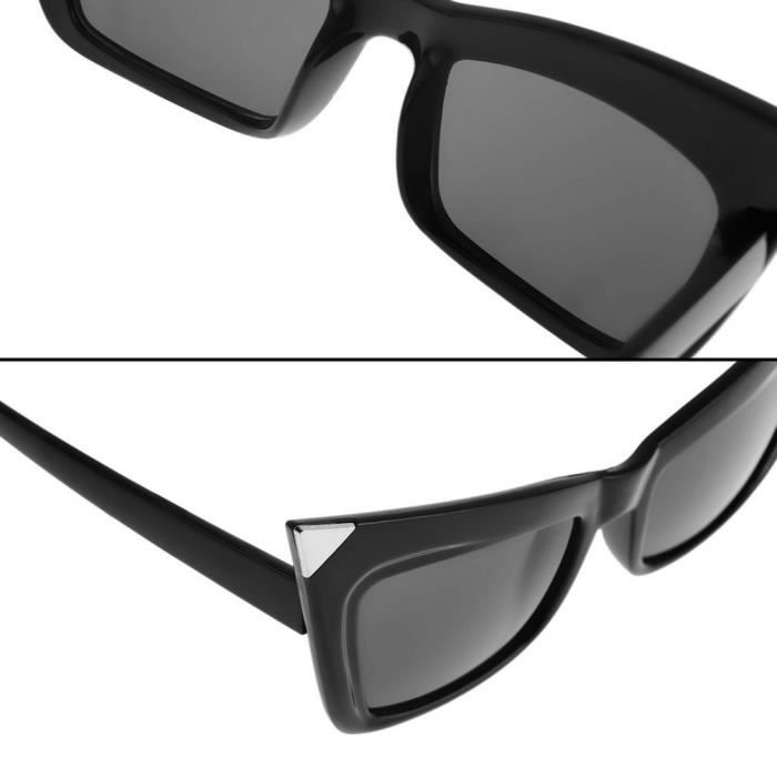 lunettes BZ048 YKS pointues fashion noires O6Ex6wBY