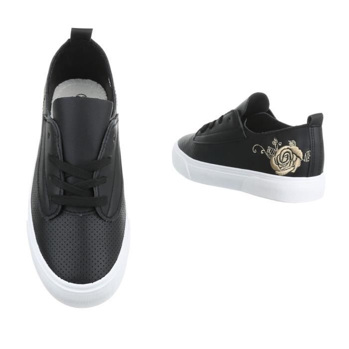 Sneakers Femme chaussures 41 loisirs noir chaussures tBrwBfqv