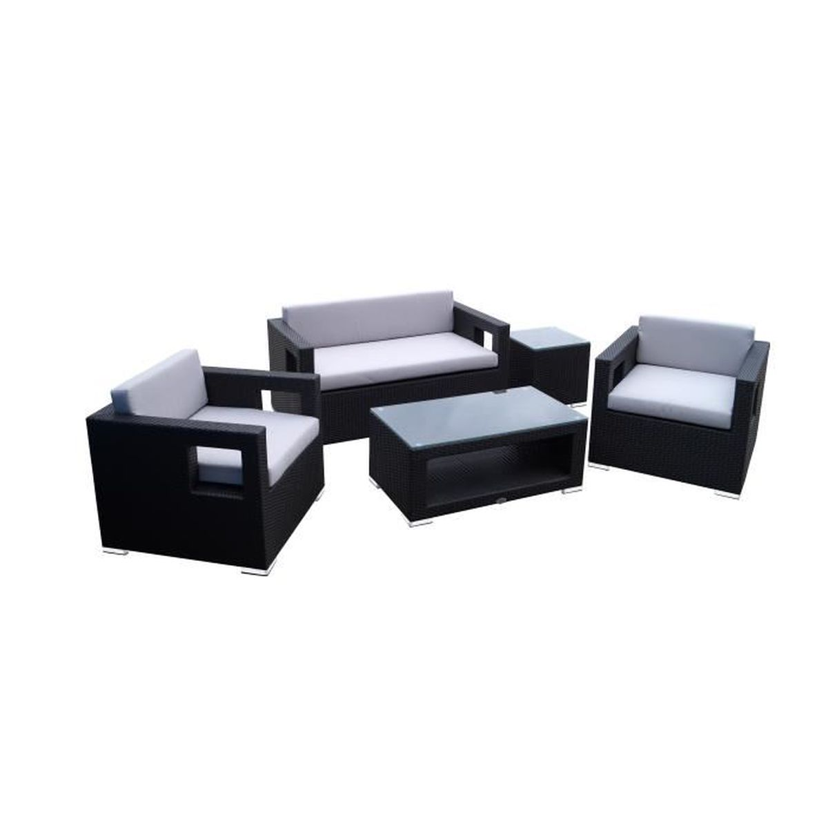 salon de jardin en poly rotin tress ensemble meubles lounge de jardin design carr l gant. Black Bedroom Furniture Sets. Home Design Ideas