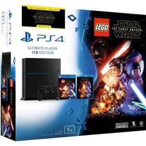 CONSOLE PS4 PS4 1 To + Lego Star Wars: Le Réveil de la Force J