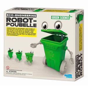 SAC POUBELLE Kit de fabrication Green Science : Robot-Poubelle