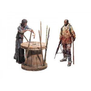 FIGURINE - PERSONNAGE Pack Walking Dead - TV Survival Morgan Diorama 13c